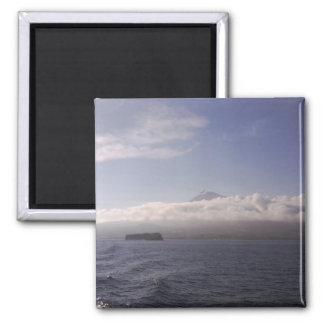 Pico Azores Magnet - Blue Sea Sky Mountain