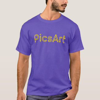 PicsArt, Yellow Logo T-Shirt