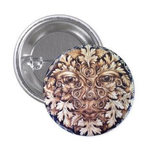 Pictish Spirals Greenman Pin