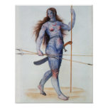 Pictish Woman Posters