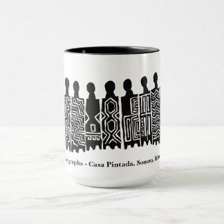 Pictographs - Casa Pintada, Sonora, Mexico Mug