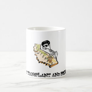 Picture1, EAST COAST TRANSPLANT AND PROUD OF IT Coffee Mug