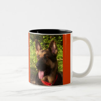 Picture_0511, LOYALTY, DEVOTION,LOVE,MY GSDLUCK... Two-Tone Coffee Mug