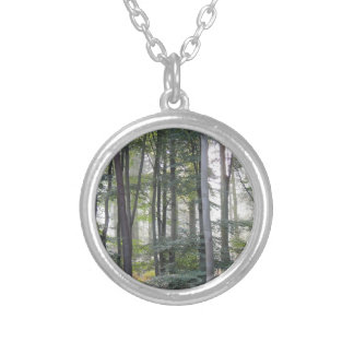 PICTURE 131 SILVER PLATED NECKLACE