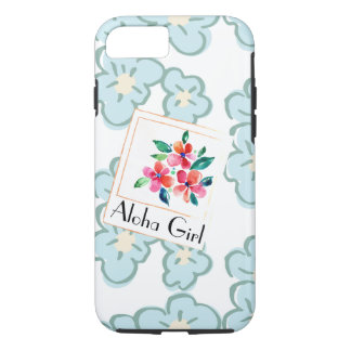 Picture a Happy Hawaiian Floral iPhone 8/7 Case