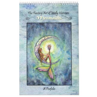 Picture Book of Mermaids Portfolio Molly Harrison Calendar