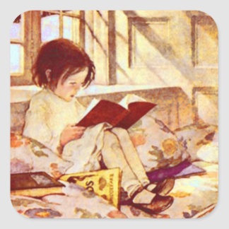 Picture Books in Winter Sticker