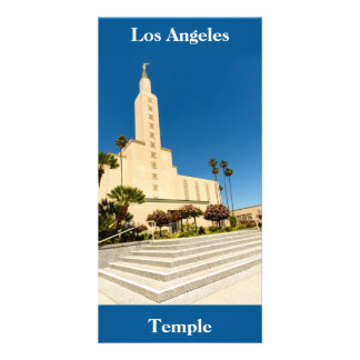 Picture Card Los Angeles LDS Temple