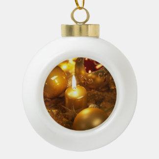 Picture Ceramic Ball Ornament