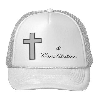 Picture Cross & Constitution hat
