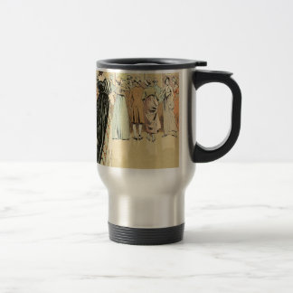 Picture Exhibition at the Salon 1800 Travel Mug