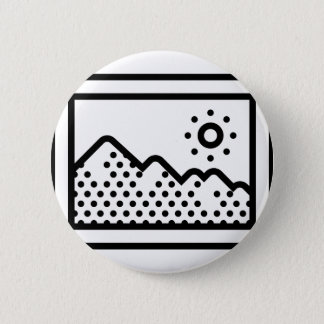 Picture Frame 6 Cm Round Badge