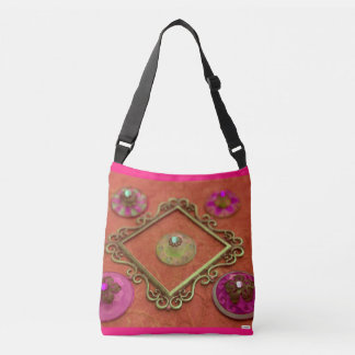 Picture frame crossbody bag