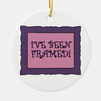 Picture Framed Ornament