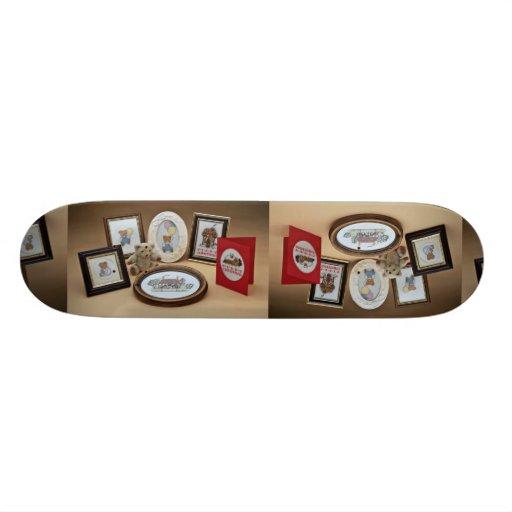 Picture frames skate board deck