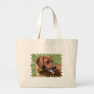 Picture of a Dachshund Dog Canvas Bag