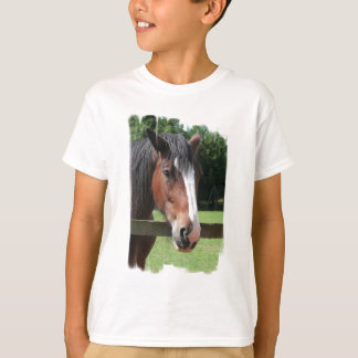 Picture of a Quarter Horse Kid's T-Shirt