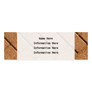 Picture of Bricks. Pack Of Skinny Business Cards