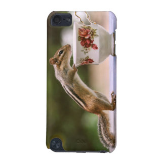 Picture of Chipmunk with China Teacup iPod Touch (5th Generation) Cases