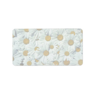Picture of Daisies Address Label