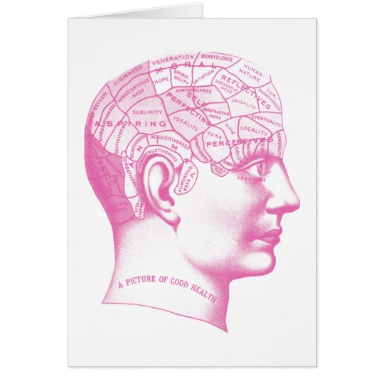 Picture of good health Brain Card