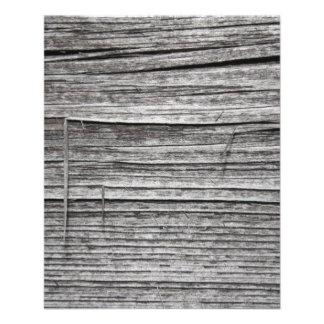 Picture of Old Splintering Wood. Flyer
