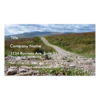 Picture Of Path In Lake District Taken From The Gr Business Cards