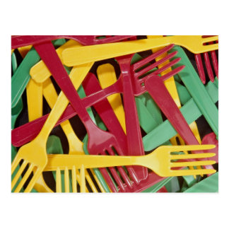 Picture of Plastic knives and forks Post Cards