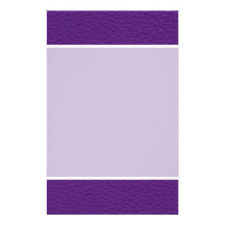 Picture of Purple Leather. Full Color Flyer