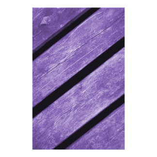 Picture of Purple Planks of Wood Flyer Design