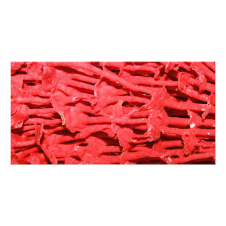 Picture of Red Organ Pipe Coral Photo Greeting Card