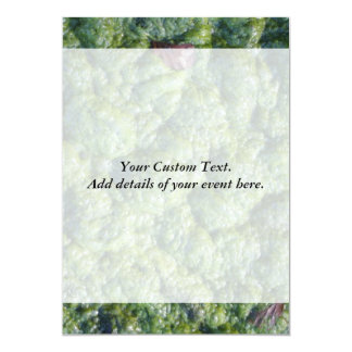 """Picture of Slime. 5"""" X 7"""" Invitation Card"""