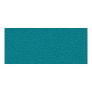 Picture of Teal Leather. Custom Announcements