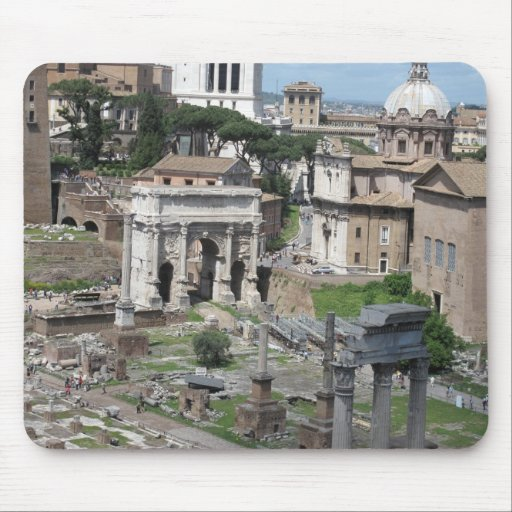 Picture of the Roman Forum Mouse Mats