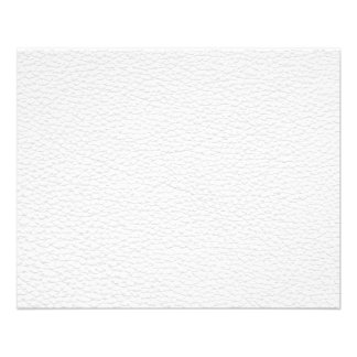 Picture of White Leather. 11.5 Cm X 14 Cm Flyer