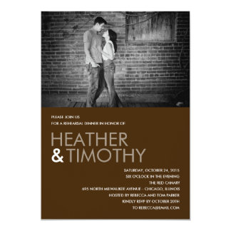 Picture Perfect Rehearsal Dinner/Shower Invitation