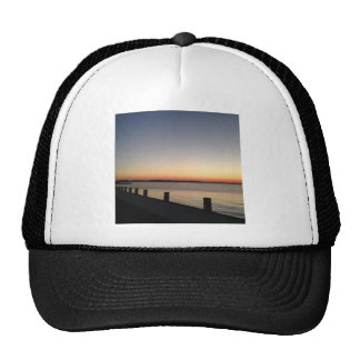 Picture Perfect Sunset Lake Mesh Hats