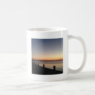 Picture Perfect Sunset Lake Coffee Mugs