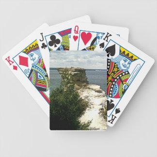 Picture rocks poker deck