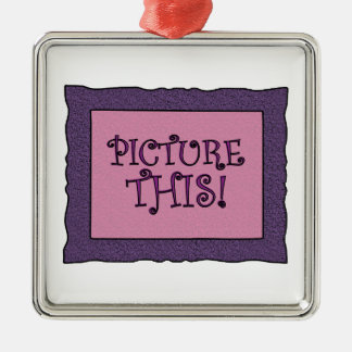 Picture This Christmas Tree Ornament
