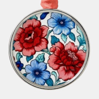 picture with  flowers ornaments