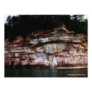 Pictured Rocks 5 Photo Print
