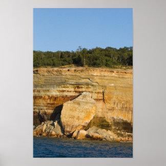 Pictured Rocks National Lakeshore, Michigan Poster