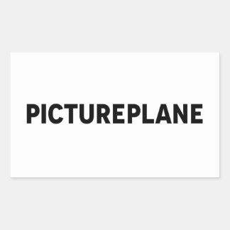 PICTUREPLANE - LOGO RECTANGULAR STICKER