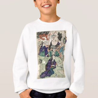 Pictures of Otsu bursting forth - Anon - 1854 Sweatshirt
