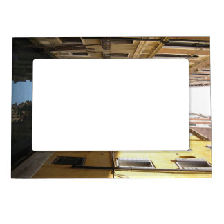 Picturesque Alley in Venice, Italy with Gondola Magnetic Picture Frame
