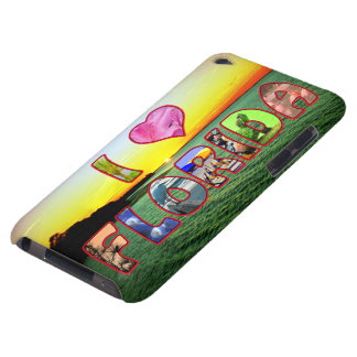 Picturesque and Colorful  I *Heart* Florida Cover iPod Case-Mate Cases