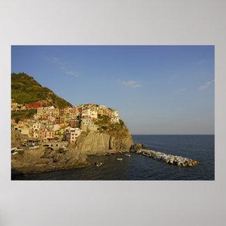 Picturesque Manarola, Cinque Terre, Italy Poster