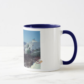Picturesque Santorini Coffee Mug