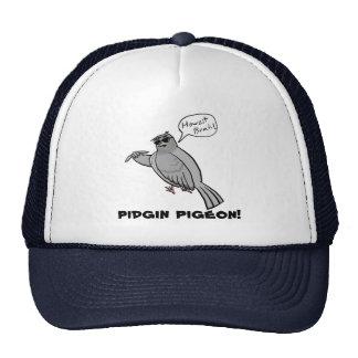 Pidgin Pigeon trucker hat